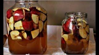 Вот как вы можете приготовить яблочный уксус у себя дома!