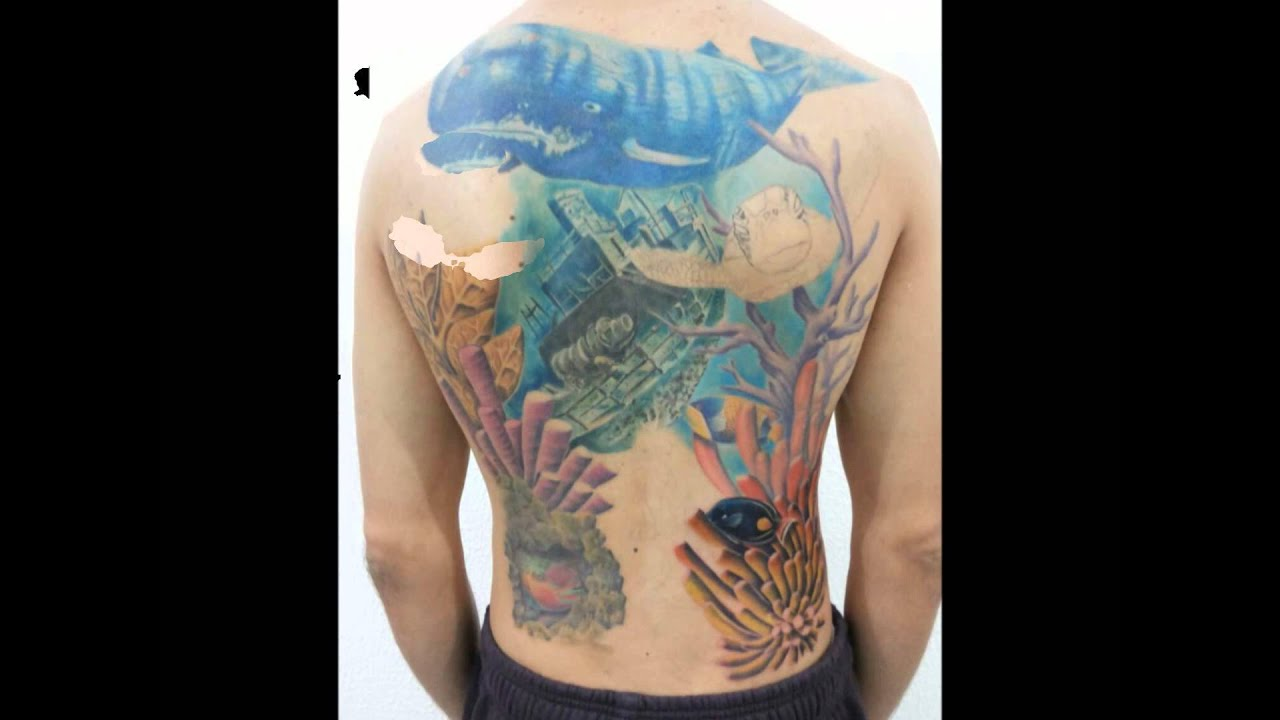 Andrew tattoo fundo do mar youtube