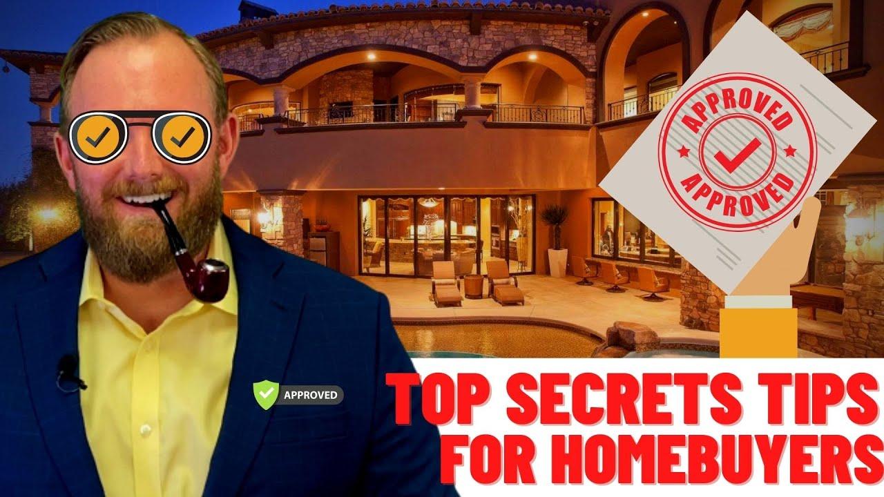 TOP SECRETS FOR HOMEBUYERS | Jared Jones | Jones Group Real Estate