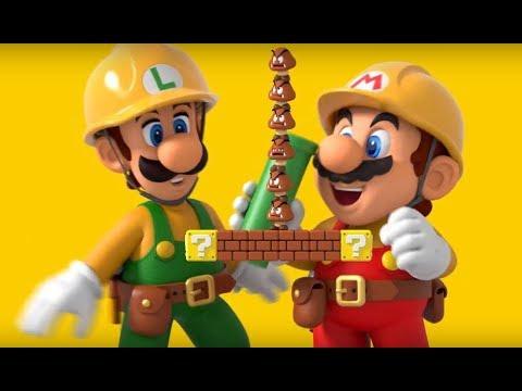 Video Reacción de Super Mario Maker 2