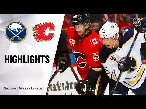 NHL Highlights   Sabres @ Flames 12/5/19