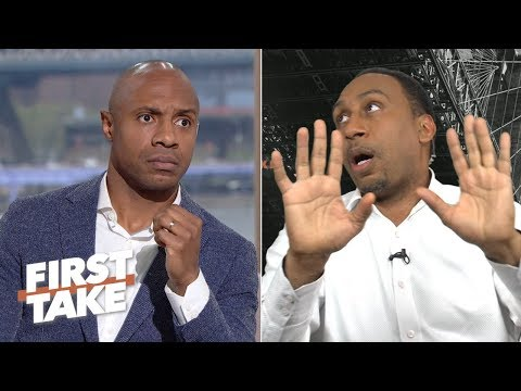 Stephen A., Jay Williams' Hilarious Reactions To Max's Clutch Kawhi Vs. Kobe Stance  | First Take