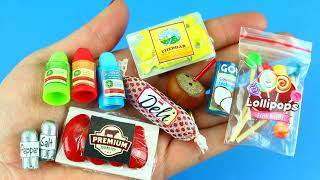 20 DIY MINIATURE FOOD REALISTIC HACKS AND CRAFTS