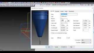 Creación de herramientas de forma con Autodesk FeatureCAM CAD CAM