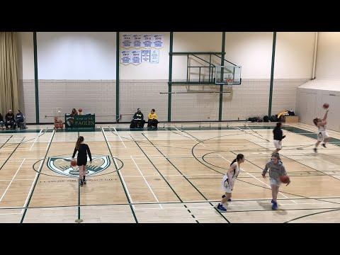 MHSAA AAA Varsity Girls Basketball Provincials - John Taylor Pipers vs Lorette Scorpions - 3/14/19