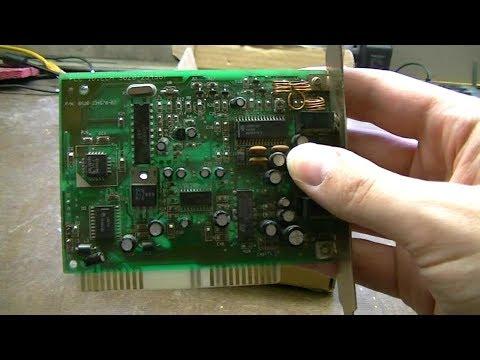 Rare Packard Bell FM Radio Card