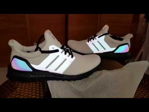 353c4a1b5 Xeno Ultra Boost White Mi Adidas NYC 5th Ave. with Black Boost!! White on  Black