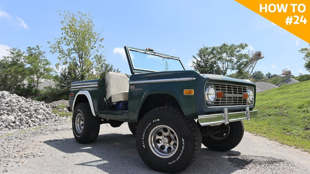 Early bronco how to h2 24
