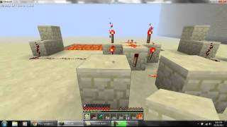 Lava Brige Part 2 : How To Make Xor Gate (make A Lever On Other Side)