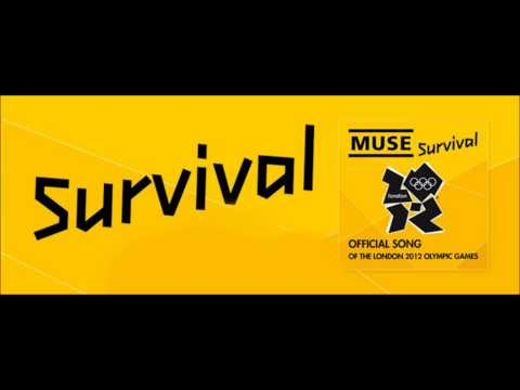 Muse - Survival (Official Song of the London Olympic Games) [HD] - with Lyrics