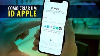 Aprenda como criar um ID Apple