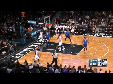 Markel Brown Brooklyn Nets Three-Pointer vs Warriors on 12/6/15