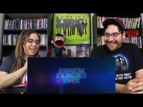 Ready Player One - COME WITH ME Trailer Reaction / Review
