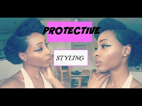 natural-hair -protective-styling-(tuck-and-roll)-//-chic-mo'nique