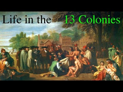 Life in the 13 Colonies (Story Time with Mr. Beat)