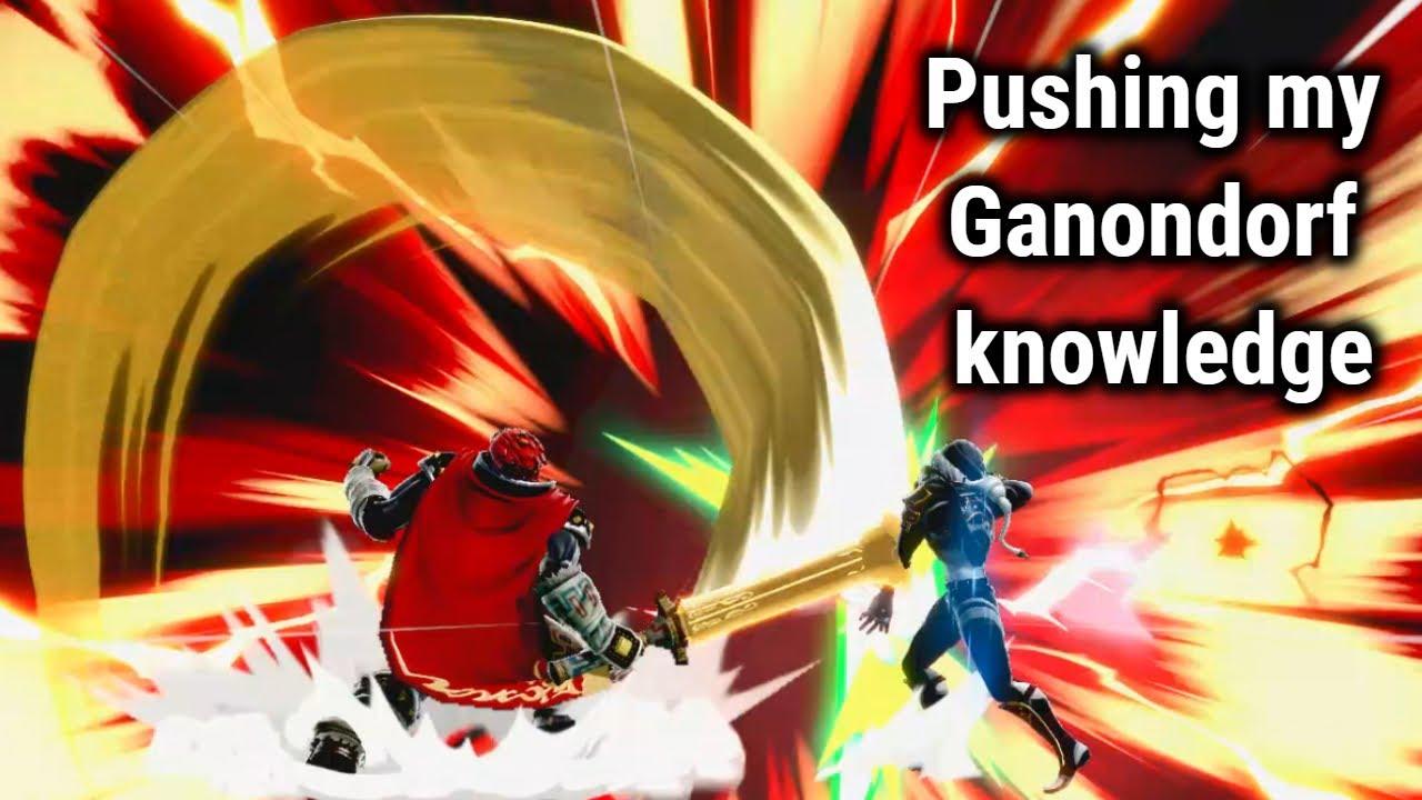 Pushing my Ganondorf knowledge