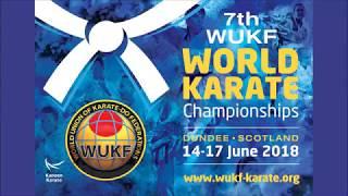 361 WUKF Flythrough - 7th WUKF World Karate Championships, Dundee, Scotland 2018
