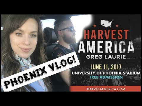 WE'RE IN PHOENIX!!! TRAVEL VLOG! HARVEST AMERICA PHOENIX VLOG DAY 1