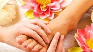 массаж при вальгусе / диета при подагре ног