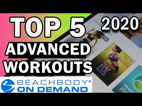 Top 5 Beachbody workouts 2020 //Advanced Edition