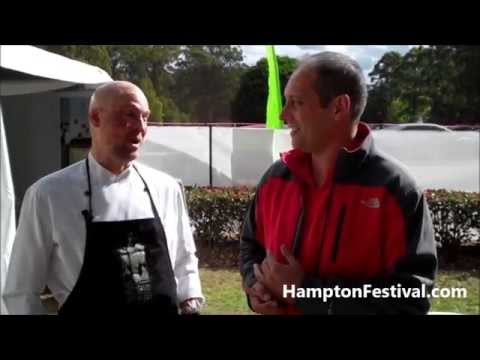 Matt Golinski Interview - Hampton Food Festival, Australia