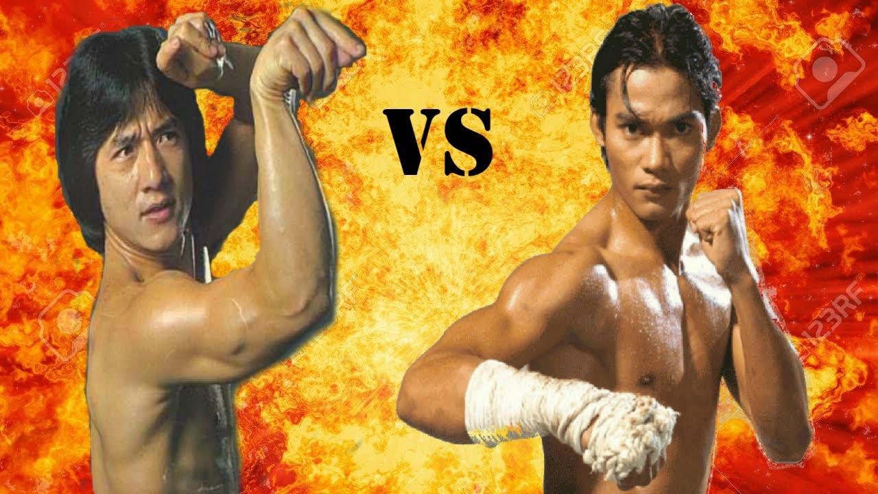 Download Jackie Chan vs Ong-bak (in a drunken state)
