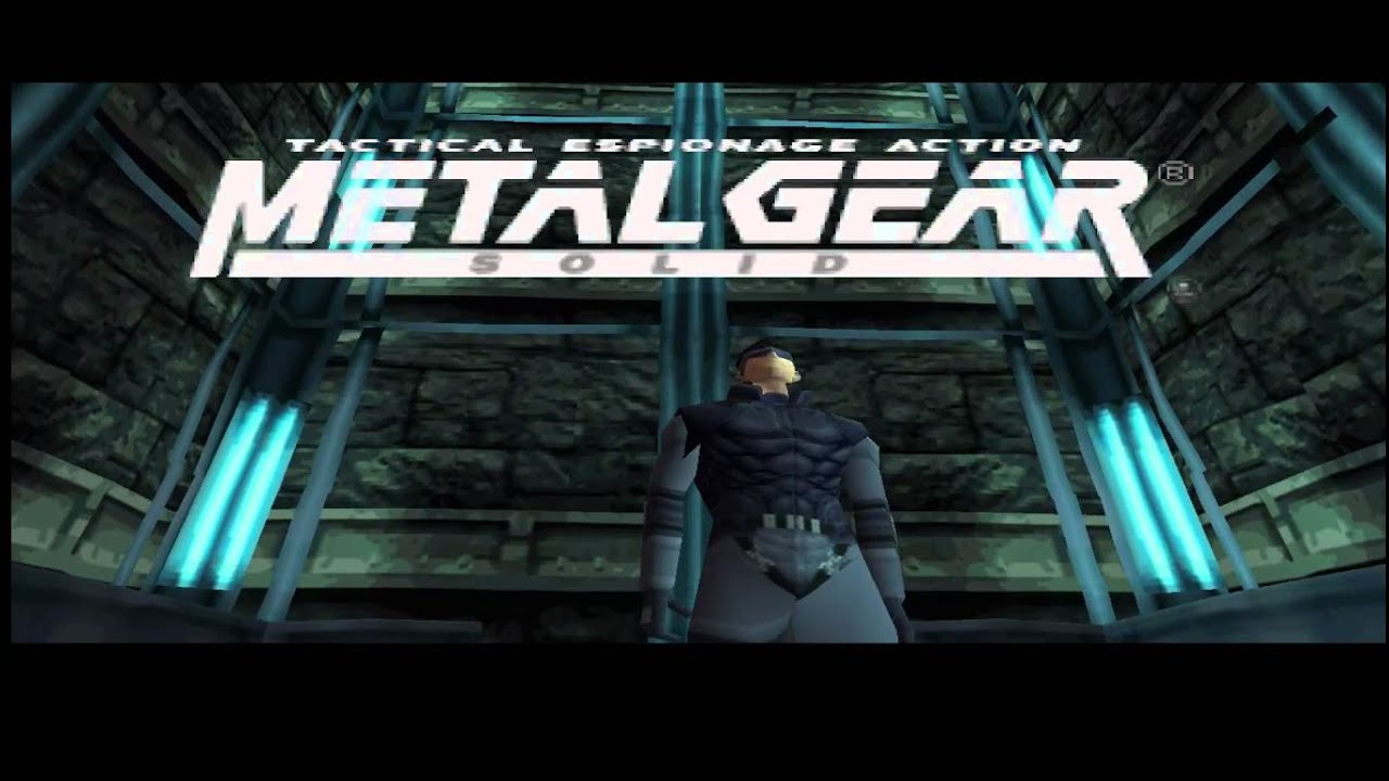 Metal Gear Solid Ps1 Demo Youtube