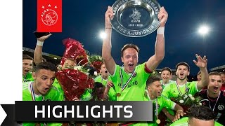 Highlights beslissingsduel Ajax A1 - PSV A1
