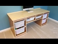 Build a Storage Desk