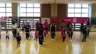 日本親子体操協会主催 東日本大震災復興支援 今、私たちにできること。