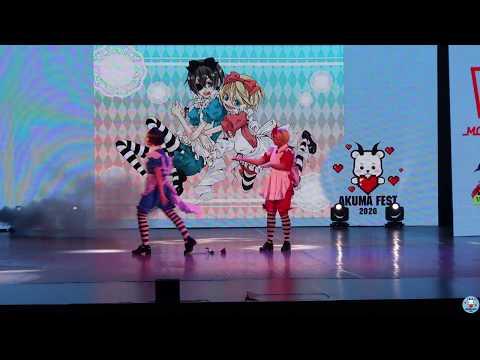 Mattakushi Moon And Mirai - Тёмный дворецкий (Групповое косплей-дефиле) - AKumaFest 2020