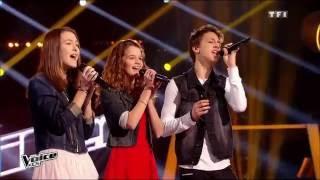 Gambar cover Raggamuffin - Selah Sue    Élisa, Justine et Jacob   The Voice Kids 2015   Battle
