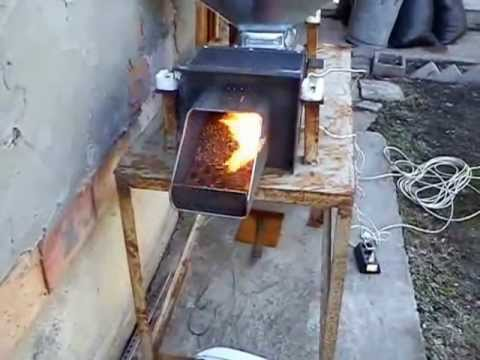 Thumbnail: Test - home pellet burner Бай Гого.wmv