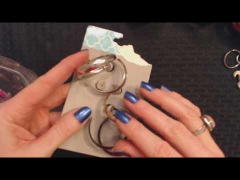 ASMR Soft Spoken Goodwill Jewelry Haul Show & Tell + Plastic Crinkling