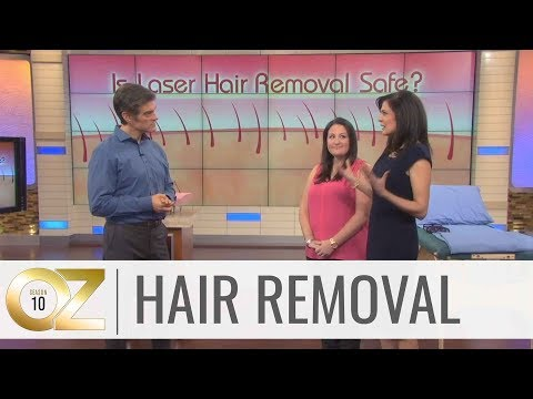 Dr. Oz Investigates if Laser Hair Removal is Safe