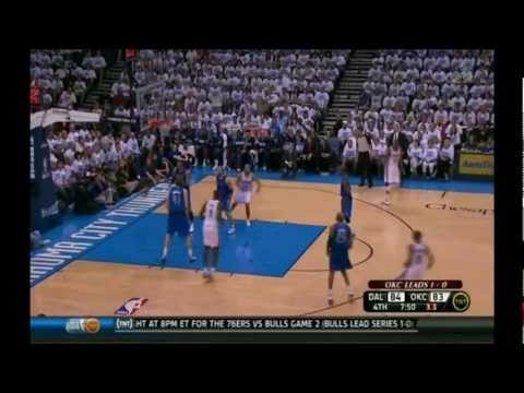 Russell Westbrook 29 points vs Dallas Mavericks full highlights game 2 playoffs 2012.04.30