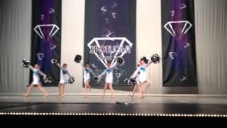 Dance Space Divas Cheer Pom performance 4/13/2013