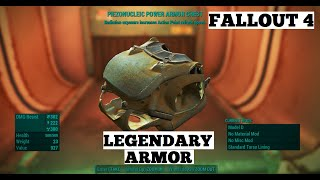 Fallout 4 - Legendary Piezonucleic Power Armor Chest Location
