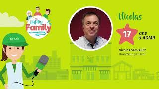 L'ADMR Vendée : Happy Family - Nicolas SAILLOUR