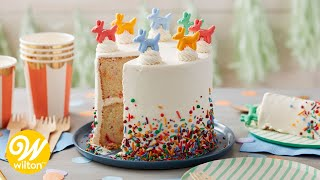 How to Make a Birthday Sprinkle Cake | Wilton