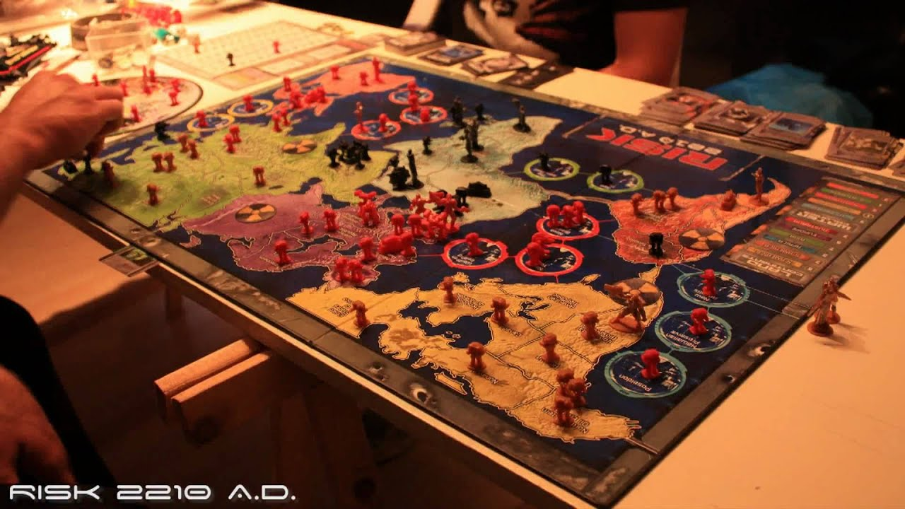 how to play risk 2210