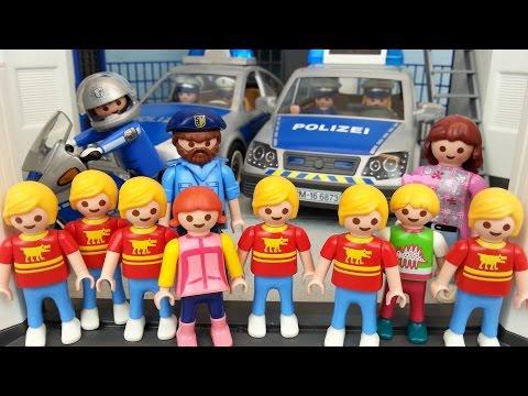 Sechslinge bei der Polizei Playmobil Film seratus1