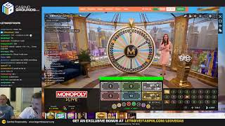 LIVE CASINO SLOTS - Sunday High Roller - !giveaway on Opal Fruits live 😍😍 (02/06/19)