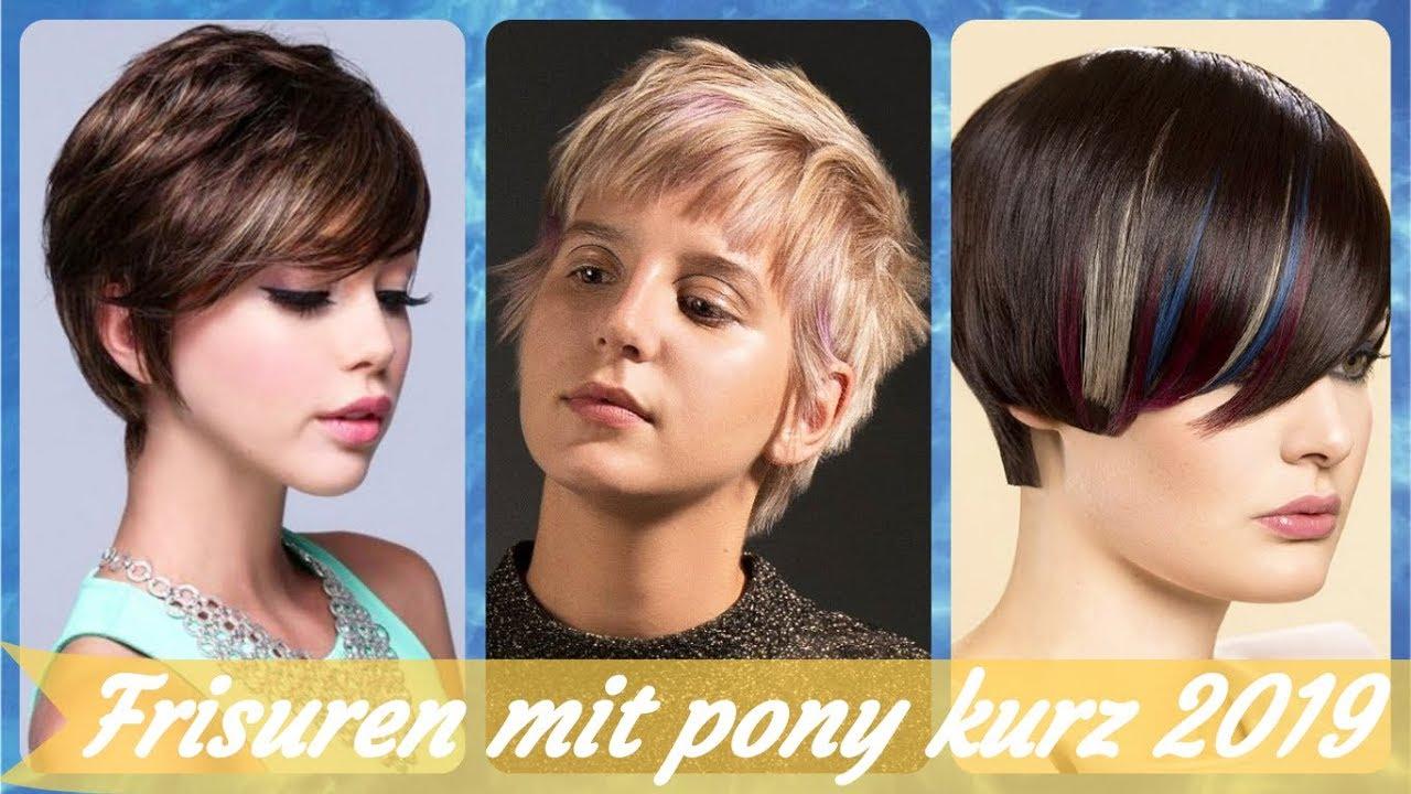 Frisuren Kurz Mit Pony