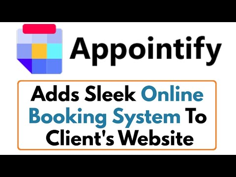 Appointify Review Demo Bonus - Adds Sleek Online Booking System To Clients Website