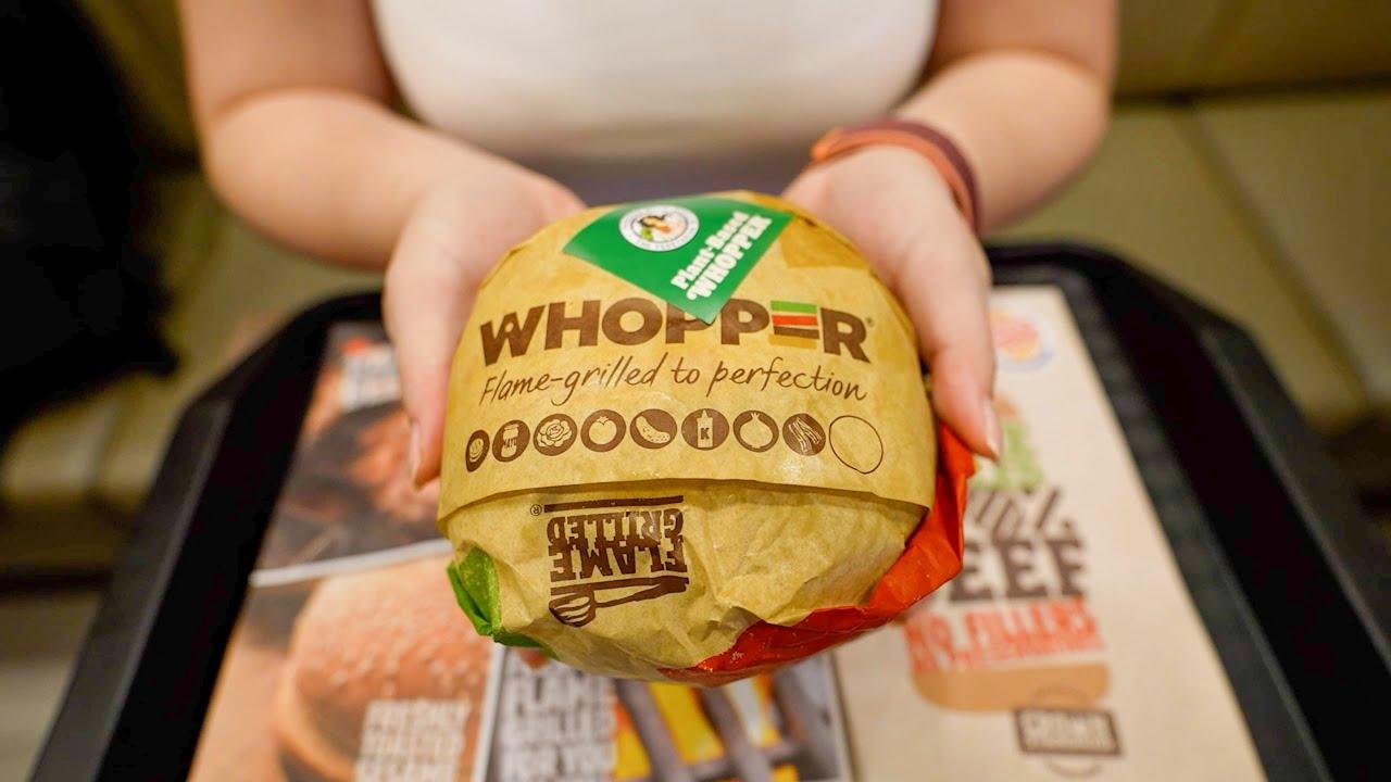 Burger King Limited Menu in Singapore