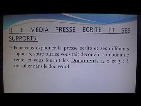 Le Media Presse Ecrite CAP EVS