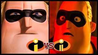 The Incredibles '2004' vs Incredibles 2 '2018' Trailer (2018) Disney HD