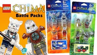 LEGO Legends of Chima Battle Packs 850910/13 Throwback Thursday w/ Longtooth & Frax