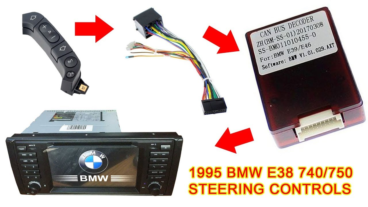 E38/E39 Android Head Unit Custom Wiring - Steering Controls